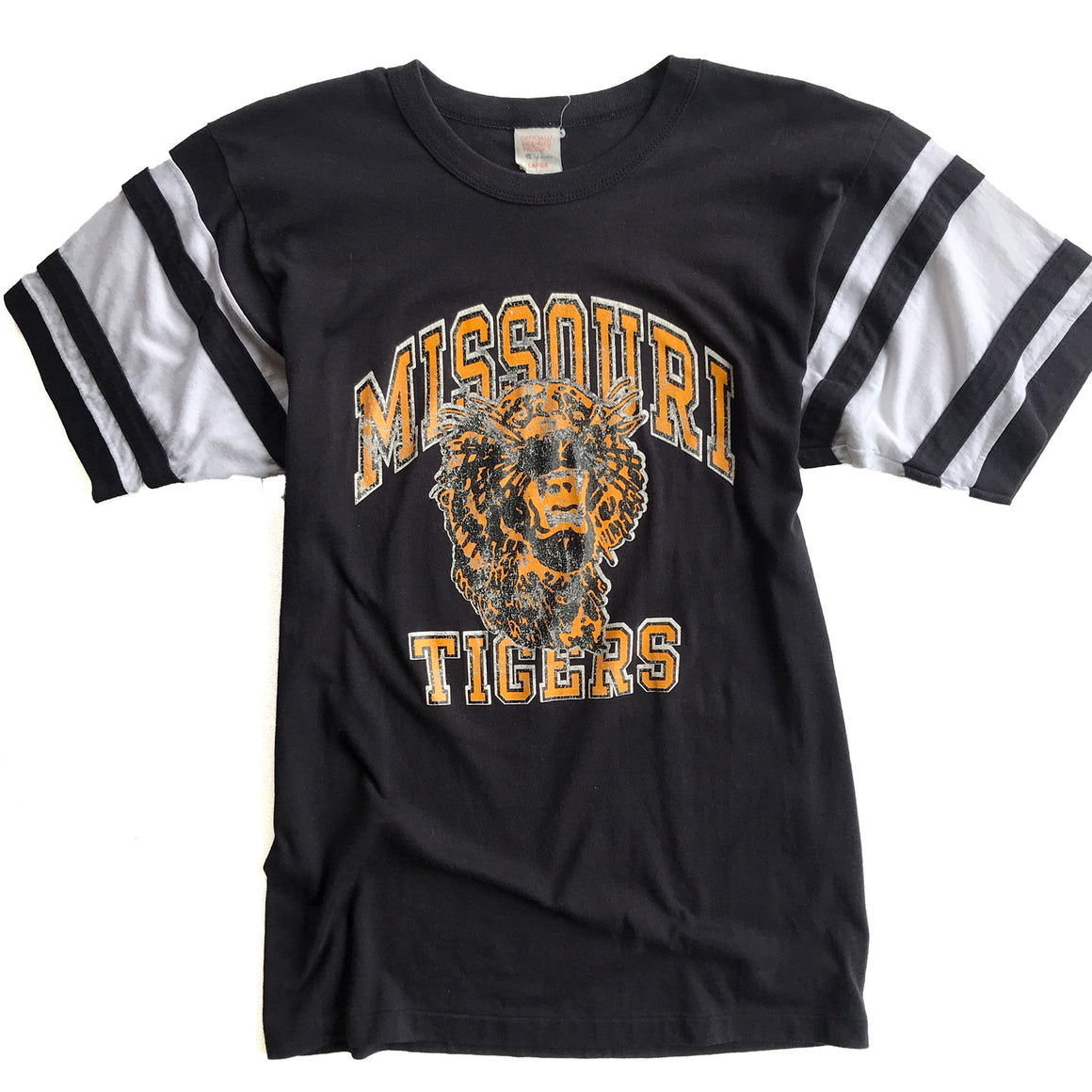 WESTSIDE STOREY VINTAGE | MISSOURI TIGERS FOOTBALL T-SHIRT