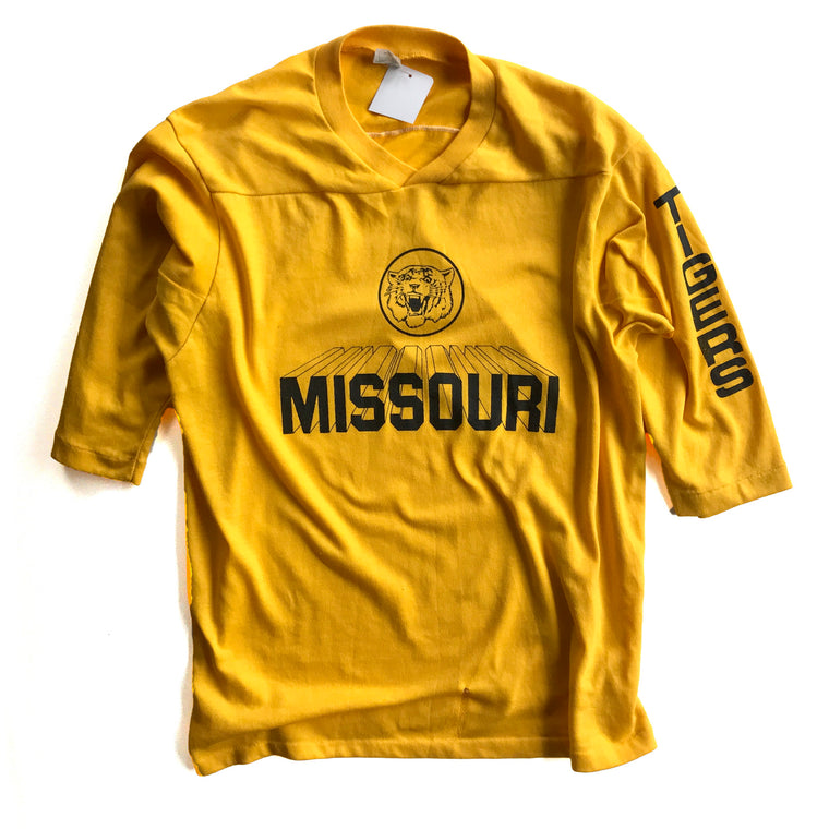 WESTSIDE STOREY VINTAGE | MISSOURI TIGERS FOOTBALL JERSEY