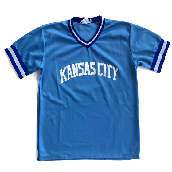 WESTSIDE STOREY VINTAGE | KANSAS CITY ROYALS POWDER BLUE JERSEY