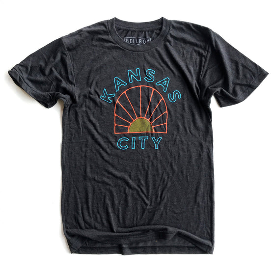 BELLBOY | SUNRISE T-SHIRT - CHARCOAL