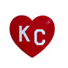 CHARLIE HUSTLE | KC HEART DECAL