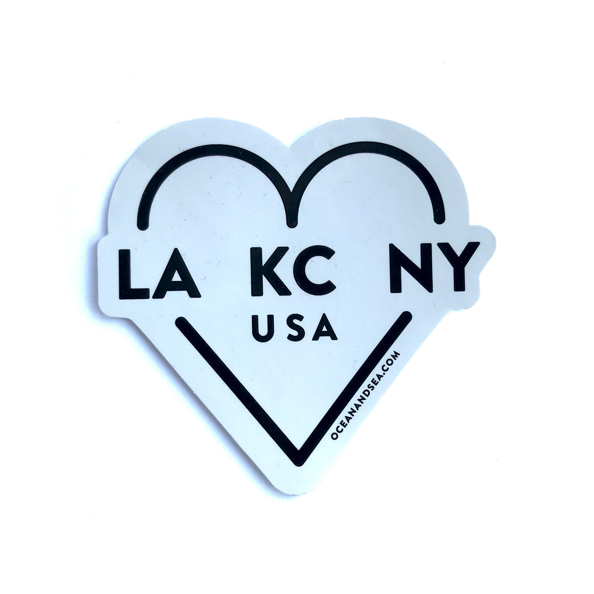 OCEAN & SEA | LA KC NY DECAL