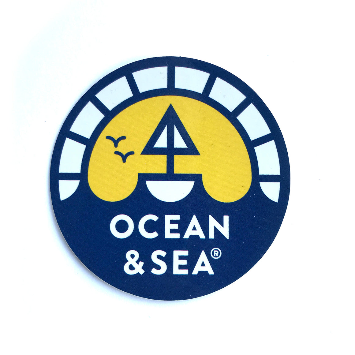 OCEAN & SEA | LOGO DECAL