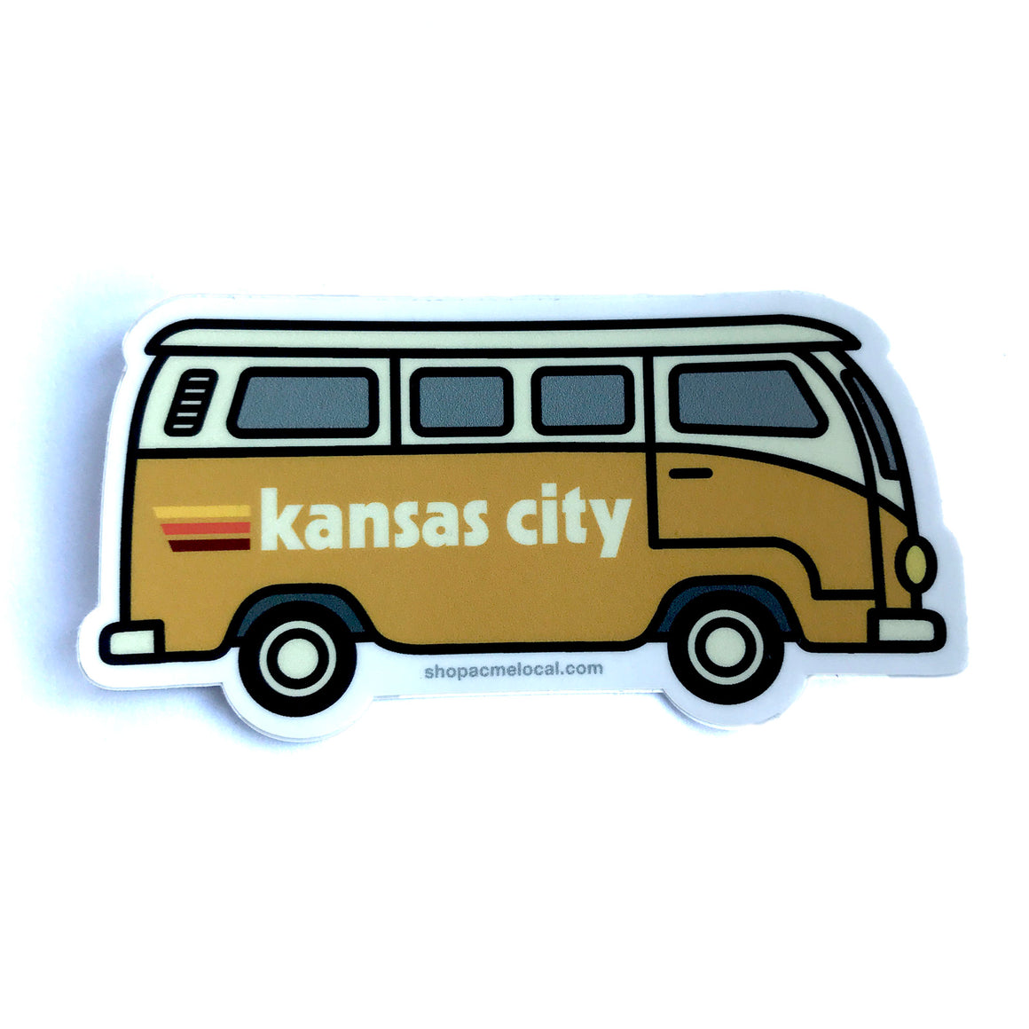 ACME LOCAL | KANSAS CITY VW STICKER - GOLD