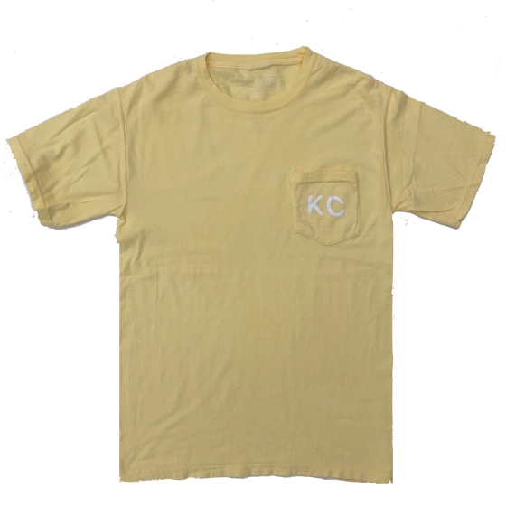 BELLBOY | KC POCKET T-SHIRT - SUMMER SQUASH YELLOW
