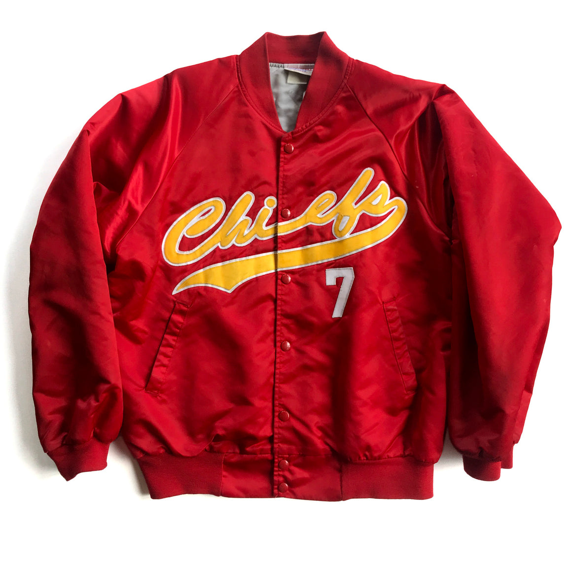 WESTSIDE STOREY VINTAGE | KANSAS CITY CHIEFS PLAYERS SATIN JACKET
