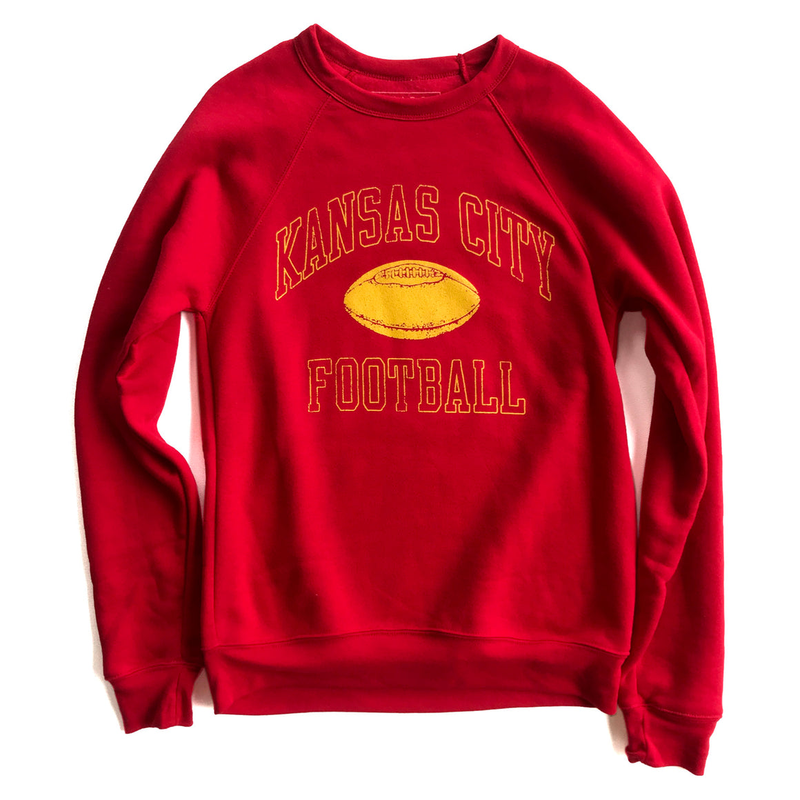 BELLBOY | KANSAS CITY FOOTBALL SWEATSHIRT - RED