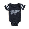 BELLBOY | KIDS KC PENNANT ONESIE - CHARCOAL