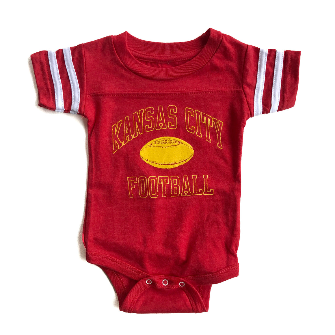 BELLBOY | KIDS KANSAS CITY FOOTBALL ONESIE - RED