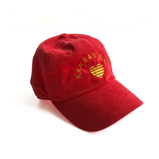 1KC | THE CHLOE HAT - RED