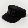 1KC | CORDUROY HAT | BLACK