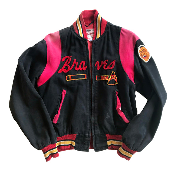 WESTSIDE STOREY VINTAGE | MILWAUKEE BRAVES TIMBERLINE JACKET