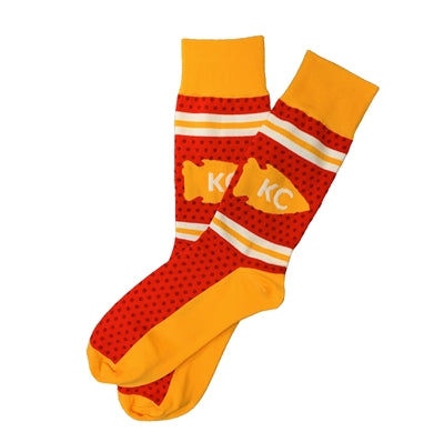 SCHOOL OF SOCK | KC ARROWHEAD DOT SOCKS