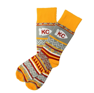 SCHOOL OF SOCK | KC AZTEC SOCKS