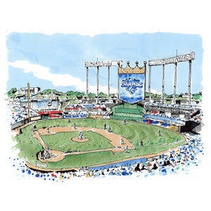 x PRINTS | GAVIN SNIDER | OPENING DAY AT THE K