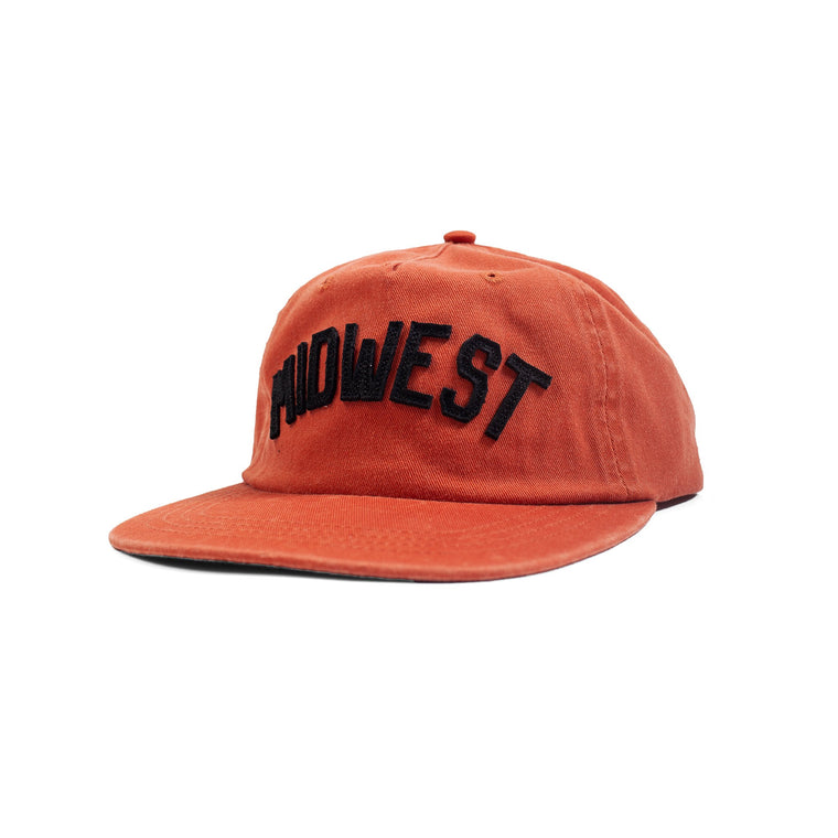 MADE URBAN APPAREL | MIDWEST HAT | BLOOD ORANGE