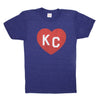KC HEART | NAVY BLUE