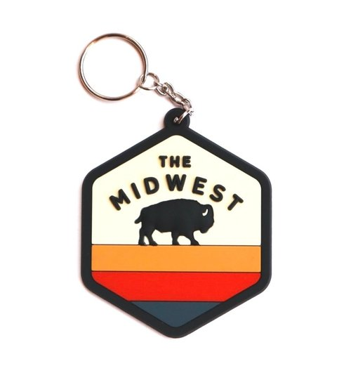 ACME LOCAL | MIDWEST BUFFALO KEYCHAIN