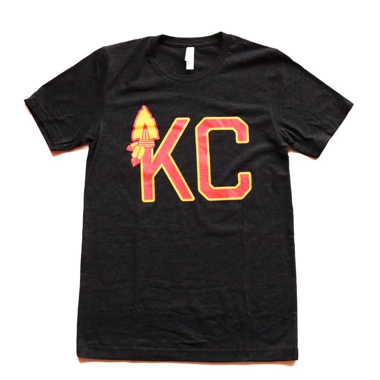 ACME | KC ARROWHEAD T-SHIRT - BLACK
