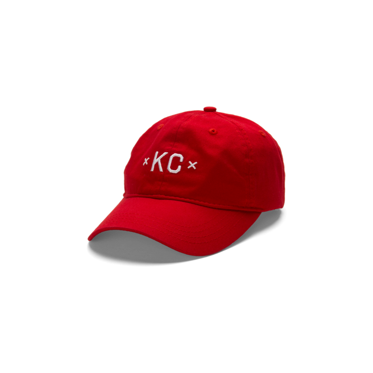 MADE URBAN APPAREL | KC DAD HAT | RED