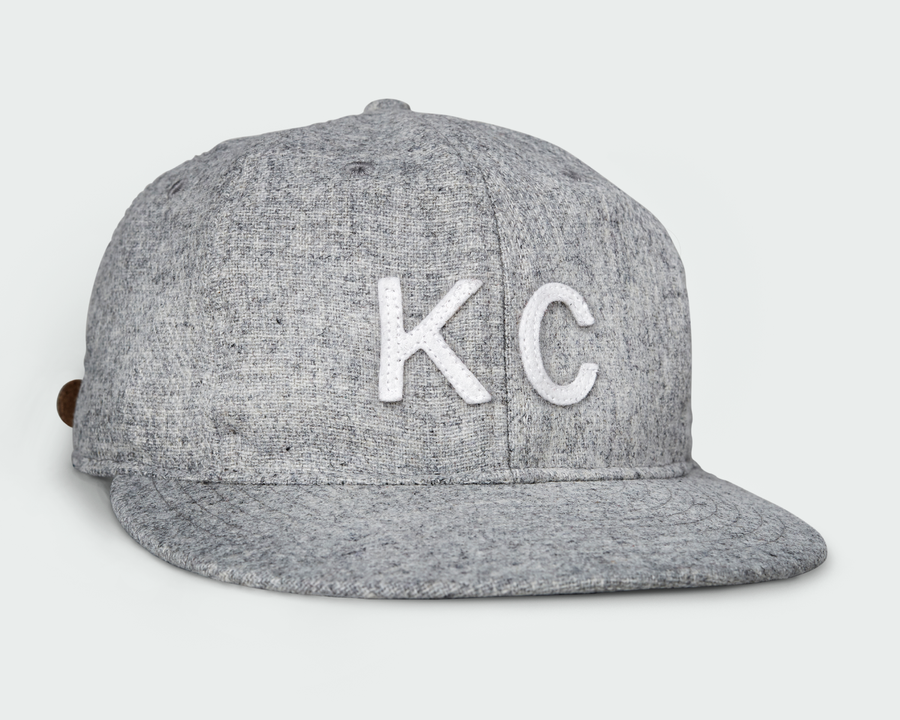 SANDLOT | VINTAGE FLATBILL HAT - HEATHER GREY