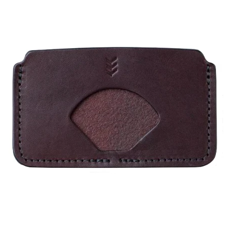 SANDLOT | EDDIE CARD SLEEVE WALLET - DARK BROWN