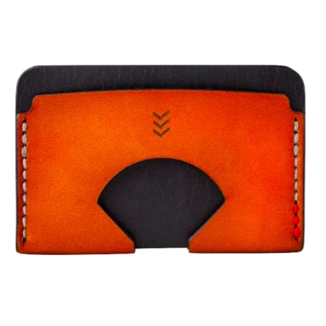 SANDLOT | MONARCH WALLET - BLACK & TAN