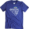 AMPERSAND | RETRO KANSAS CITY T-SHIRT - NAVY