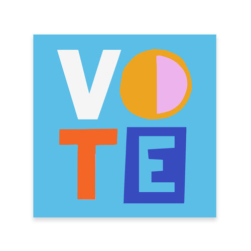 AMPERSAND | VOTE DECAL