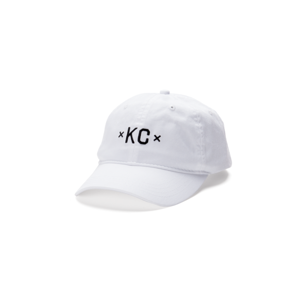 MADE MOBB | KC DAD HAT | WHITE