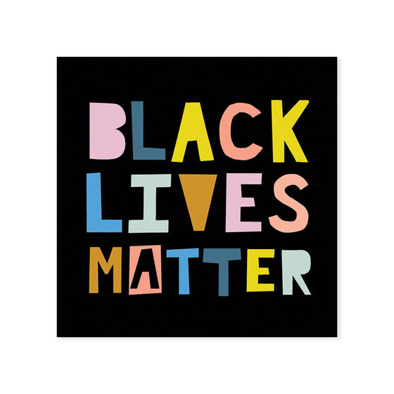 AMPERSAND | BLACK LIVES MATTER DECAL