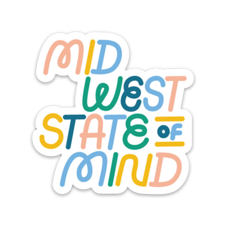 AMPERSAND | MIDWEST STATE OF MIND DECAL