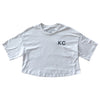 BELLBOY | KC CROP TOP T-SHIRT - VINTAGE WHITE