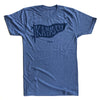 BELLBOY | KC PENNANT T-SHIRT - LIGHT BLUE/NAVY