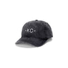 MADE MOBB | KC DAD HAT | BLACK DENIM
