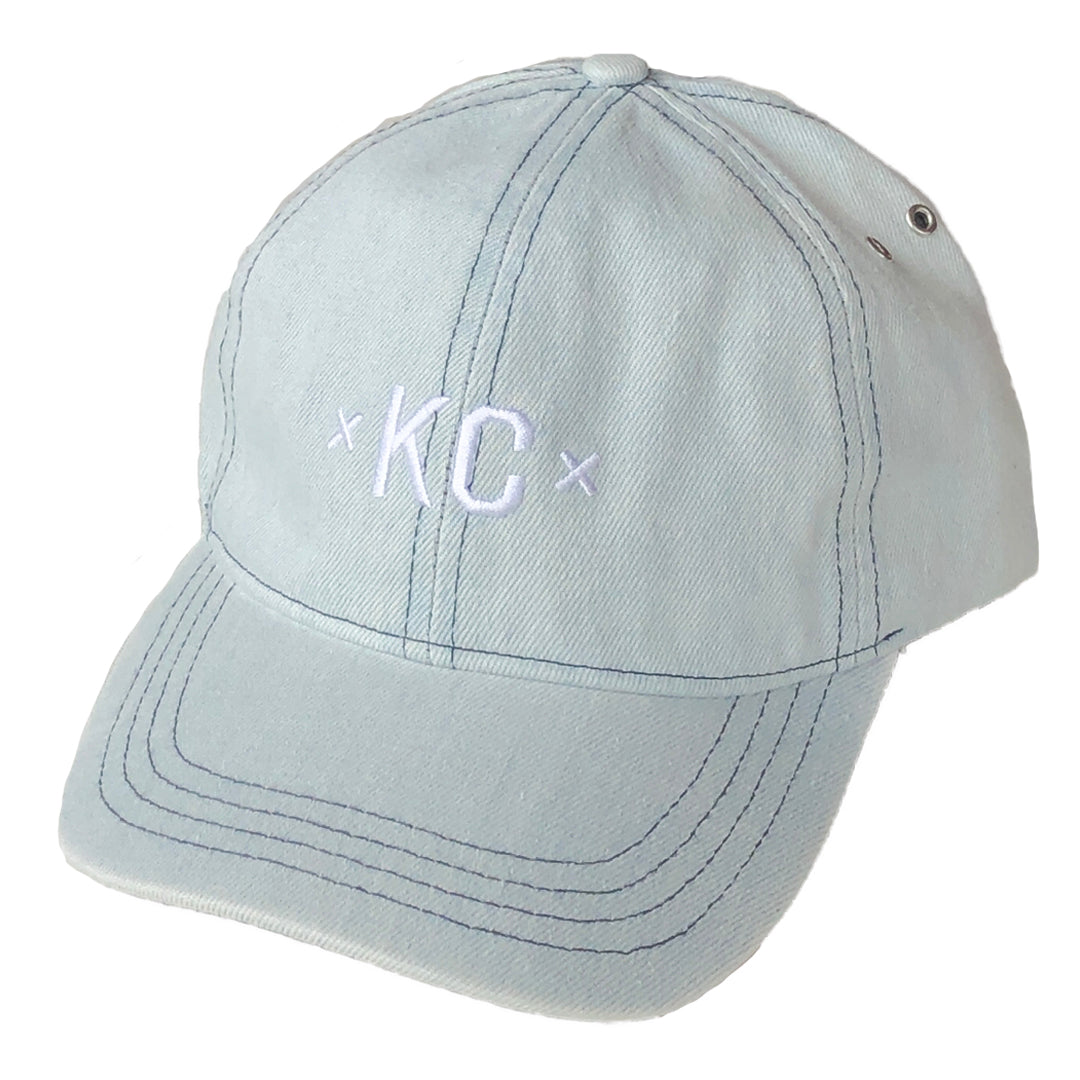 MADE MOBB | KC DAD HAT | DENIM