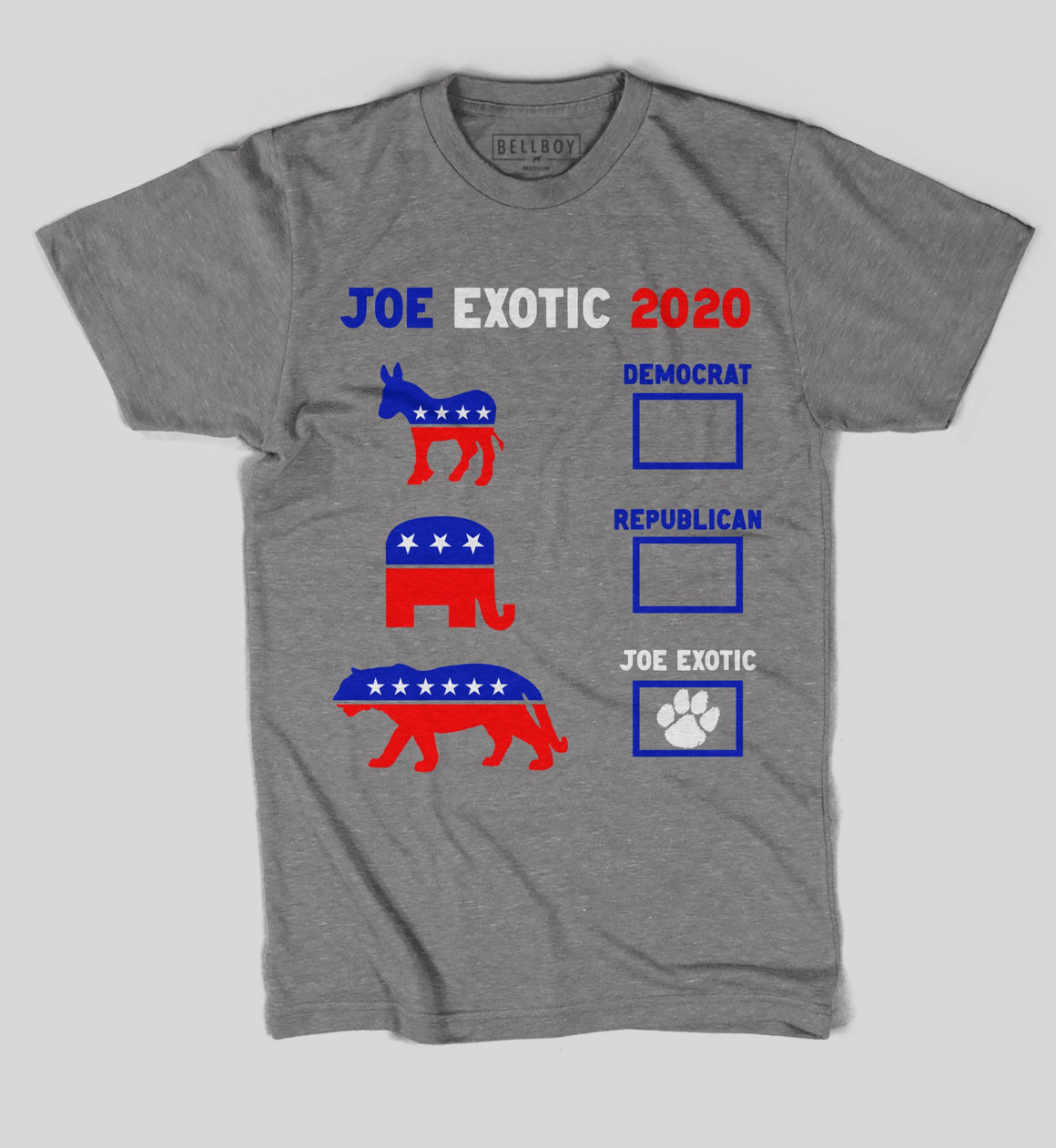 BELLBOY | VOTE FOR JOE EXOTIC T-SHIRT