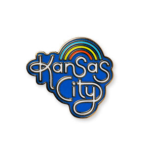 AMPERSAND | RETRO KANSAS CITY ENAMEL PIN