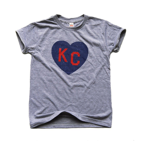 KC HEART | GREY | KIDS