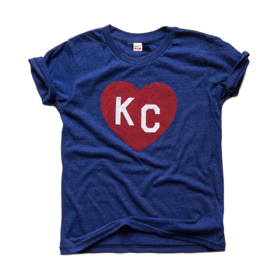 KC HEART | NAVY | KIDS