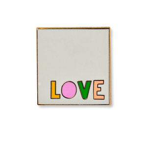 AMPERSAND | LOVE NOTE ENAMEL PIN