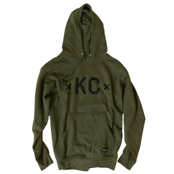 MADE MOBB | KC SIGNATURE HOODIE | ARMY GREEN