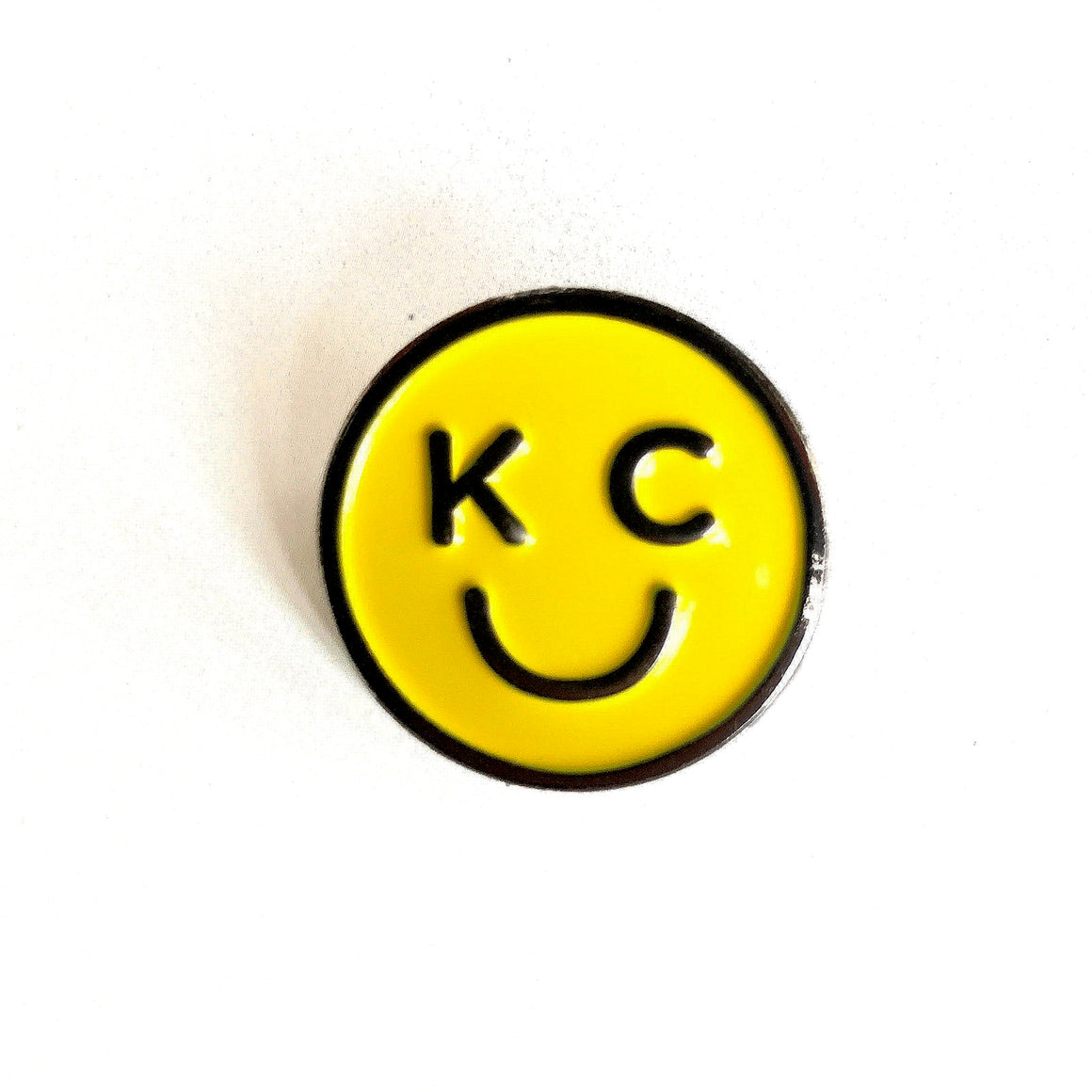 BELLBOY | KC SMILEY ENAMEL PIN