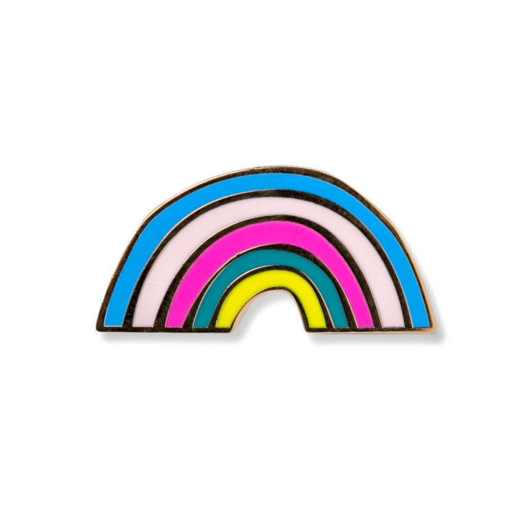 x AMPERSAND PIN | RAINBOW