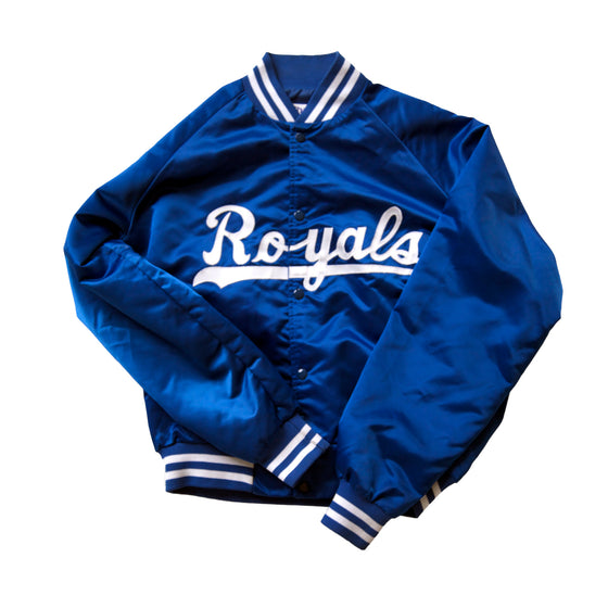 WESTSIDE STOREY VINTAGE | KANSAS CITY ROYALS CHALK LINE JACKET