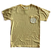 BELLBOY | KC SMILEY POCKET TEE | SUMMER SQUASH YELLOW