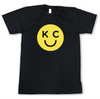 BELLBOY | KC SMILEY T-SHIRT - CHARCOAL