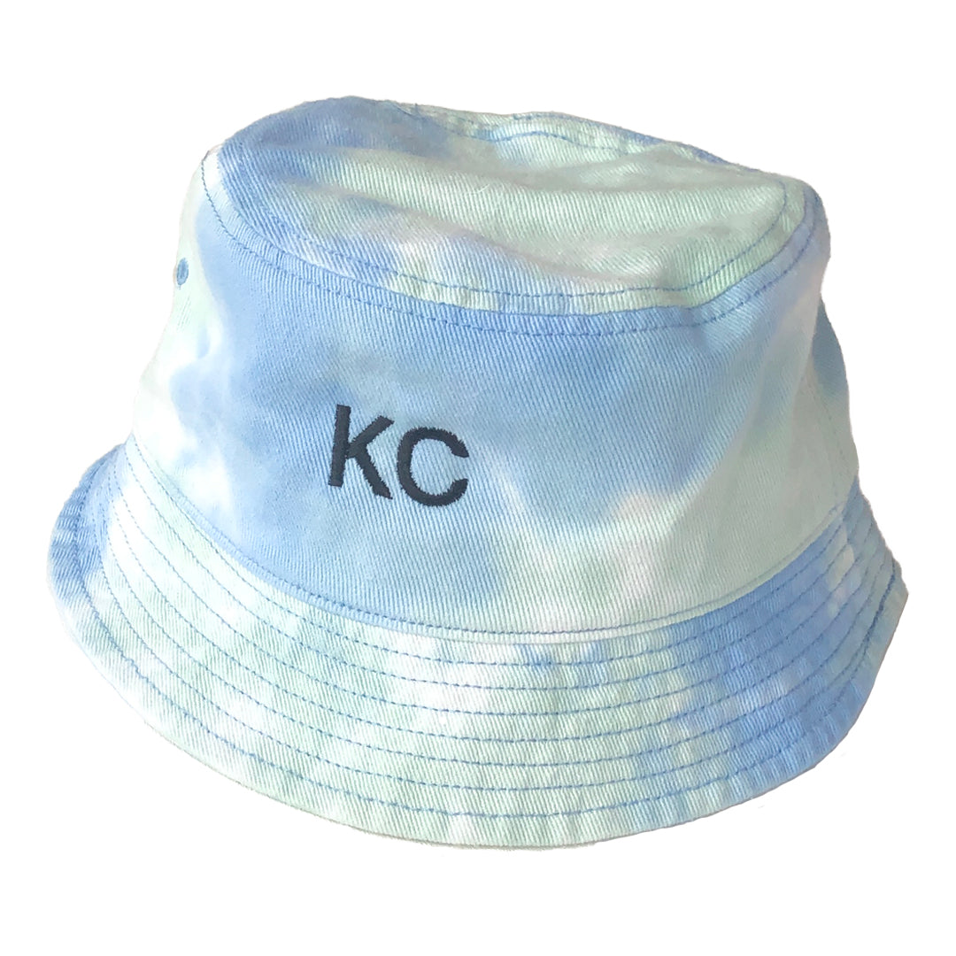 BELLBOY | KC TIE DYE BUCKET HAT - SKY