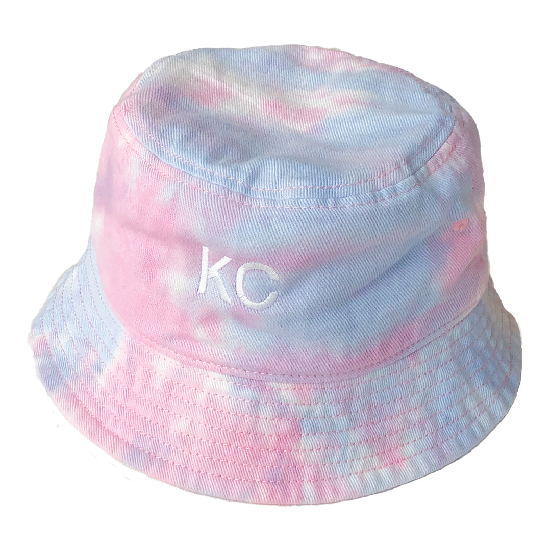 BELLBOY | KC TIE DYE BUCKET HAT - COTTON CANDY