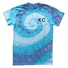 BELLBOY | KC TIE DYE T-SHIRT - BLUE